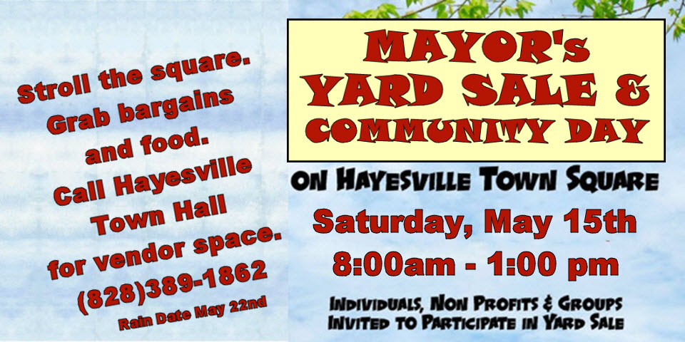 Mayor's Yard Sale