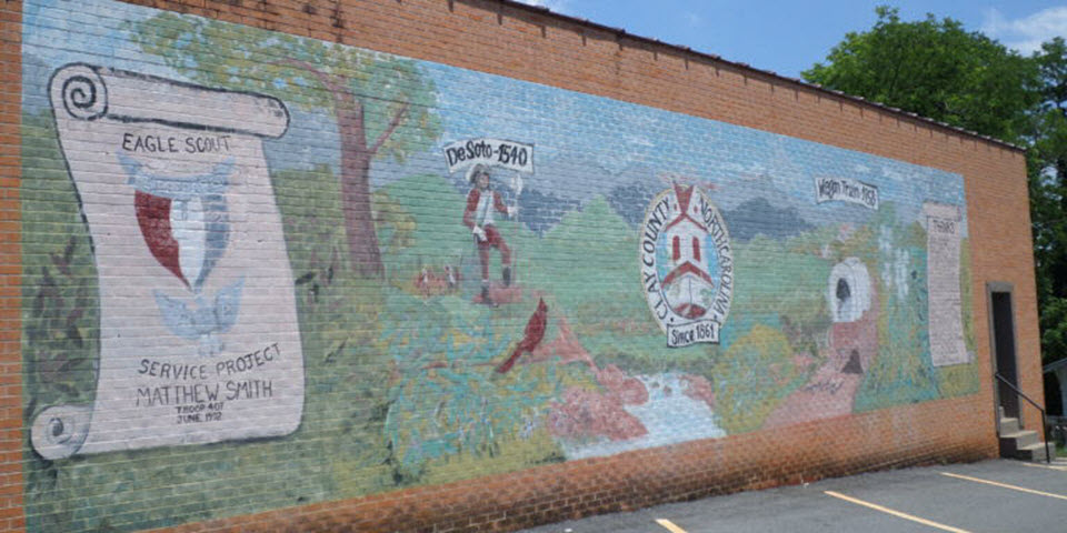Eagle Scout Mural