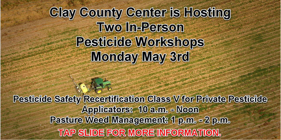 Pesticide In-person Workshops