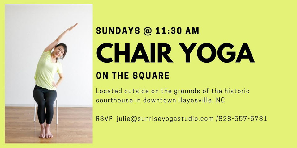 Chair Yoga on the Square